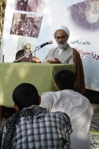 سخنرانی در میان طلاب حاضر در نکوداشت آیت الله میرزا جواد آقا تهرانی ره - بهشت رضا (ع) 1390